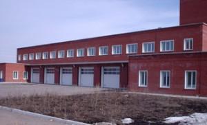 Строительство пожарной части в Тульской области